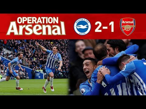 BRIGHTON 2-1 ARSENAL - WHAT MORE WILL IT TAKE?!