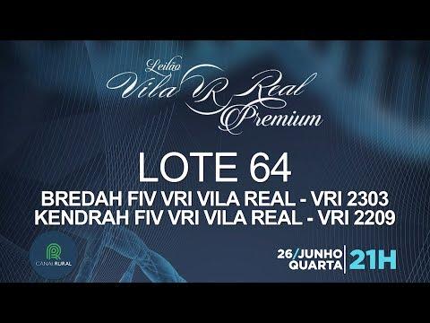 LOTE 64 (VRI 2303/VRI 2209)