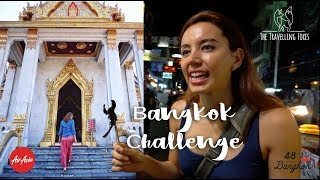 BANGKOK 48 HOUR CHALLENGE - STREET FOOD, ATTRACTIONS, SHOPPING & MORE (Thailand) - Vlog 20