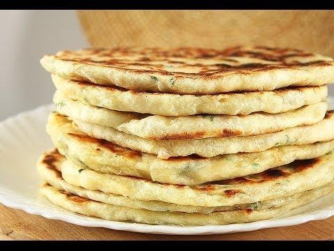 Как называются лепешки с сыром на кавказе