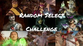 Mazin Jay Vs. Kaee HD Random Select Challenge! (Mortal Kombat 11)
