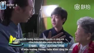 [Cổng 921][Vietsub] Bản tin điện ảnh Trung Quốc- Nhật ký hiện trường quay series phim công ích