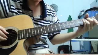 Đêm nằm mơ phố ( Thùy Chi ) Guitar solo fingerstyle