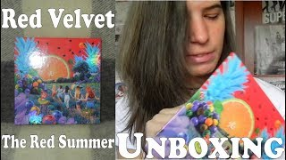Unboxing - Red Velvet - The Red Summer - Special Summer mini abum