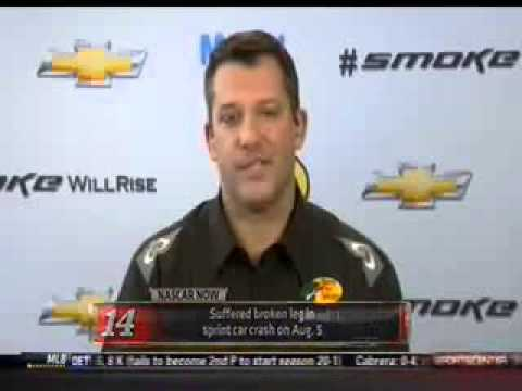 Tony Stewart NASCAR Now Interview - Part 1 - YouTube