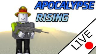 APOCALYPSE RISING LIVE 🔴 ROBLOX GAMEPLAY *LIVE*
