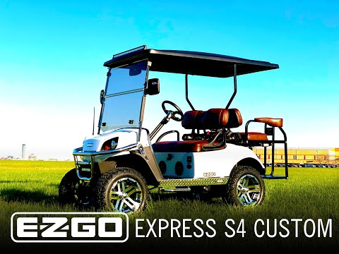 2019 CUSTOM E-Z-GO EXPRESS S4 Built By Power Equipment Solutions In Columbus Ohio
