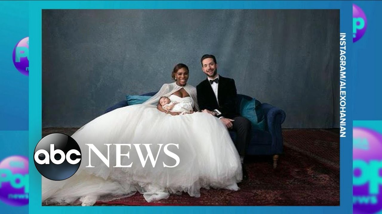 Serena Williams and Alexis Ohanian\u0027s fairy-tale wedding - YouTube