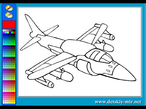 Jet Coloring Pages For Kids Jet Coloring Pages