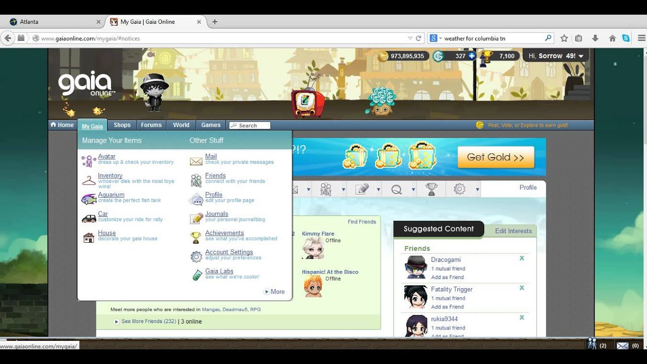 What are some reasons to use gaia online?
