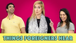Things Foreigners Hear in Pakistan ft. Cynthia Ritchie | MangoBaaz