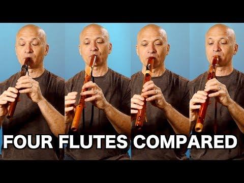 Native Flute Comparison (4 Makers)