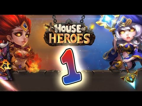 House of Heroes (IOS, Android) Gameplay Walkthrough Part 1