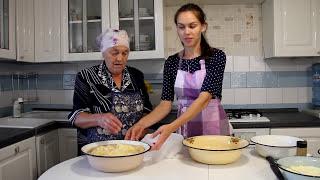Пирожки из картофельного теста.  Нагисаер (нем. Nagiesaher –голые хрюшки)