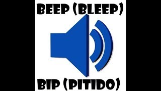 Censor Beep, Censure Bleep - Sound effect. Pitido de censura, Bip censurador - Efecto sonoro.