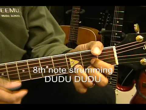America YOU CAN DO MAGIC Guitar Lesson Tutorial EricBlackmonMusic Instruction