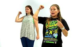 Видео урок Хип-Хоп №1