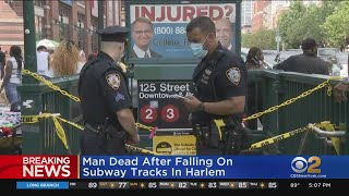 Man Dead After Falling On Subway Tracks In Harlem