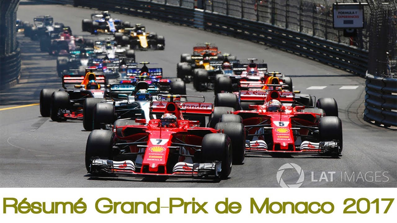 r sum grand prix de monaco 2017 formule 1 youtube. Black Bedroom Furniture Sets. Home Design Ideas