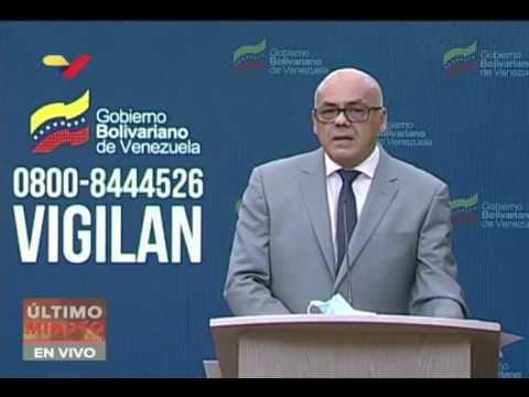 Reporte Coronavirus Venezuela, 04/04/2020: Jorge Rodríguez informa 2 nuevos casos y apoyo de OMS