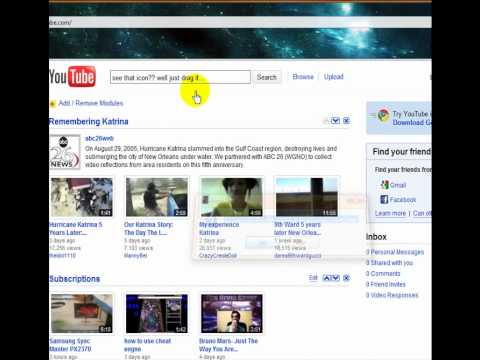How to set youtube as your homepage.(Google Crome, Firefox, Internet ex)