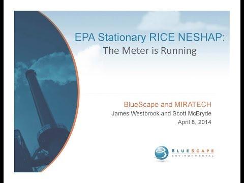 EPA RICE NESHAP the Meter is Running