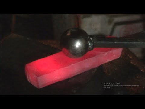 Способы ковки высокоуглеродистых сталей.  Фильм второй.