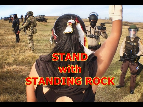 "Mni Wiconi ~ ""Water is Life"" ~ Stand with Standing Rock"