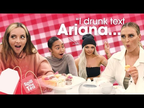 Little Mix Drunk Text Ariana And Taylor Swift! 😱 | Spill The Tea | Heart