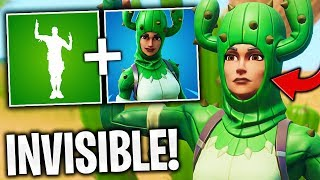 DELOR INVISIBLE WITH THE NEW EMOTE AND A FORTNITE SKIN! 🔥 THE BEST OF FORTNITE#154