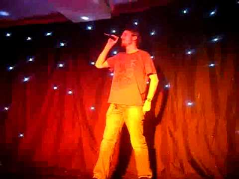 Nicky B Karaoke- With Arms Wide Open