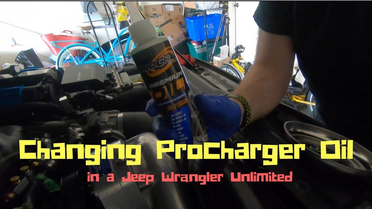 How to change the oil in a Procharger Supercharger (Jeep)