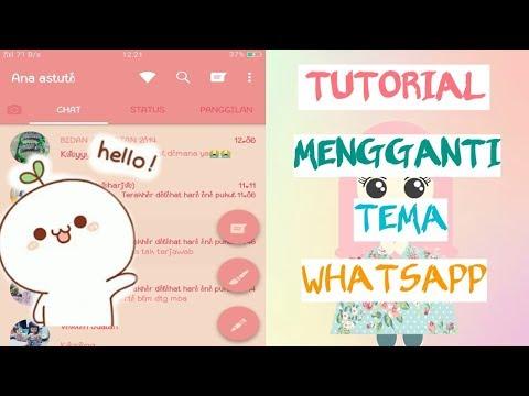 Tutorial Cara Mengganti Tema Whatsapp Cepat Dan Mudah