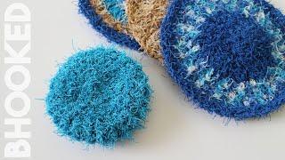 Crochet Scrubby Set: Red Heart Scrubby