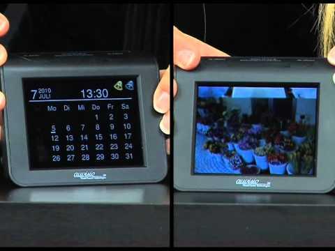 auvisio 5in1 Multimedia-Radiowecker mit MP3-Player & Photoframe