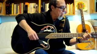 THE SPY - THE DOORS - Guitar lesson by: J.M.Baule