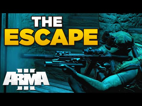 ZEUS - THE ESCAPE | ARMA 3 [ARES, JSRS3 Dragonfyre, Blastcore Phoenix]