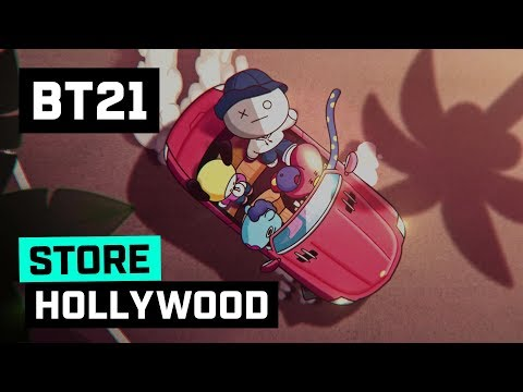 [BT21] LINE FRIENDS Hollywood