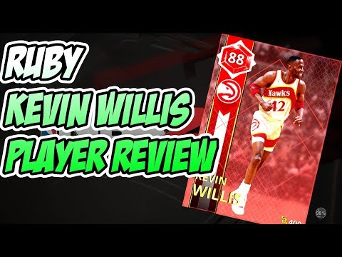 RUBY KEVIN WILLIS PLAYER REVIEW!! BEST POWER FORWARD!? NBA 2k18 MYTEAM