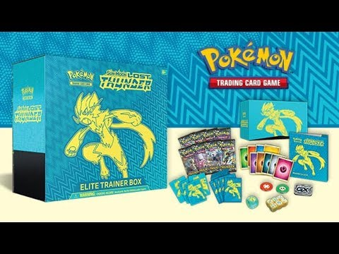 Opening 3x Pokemon Lost Thunder Elite Trainer Boxes