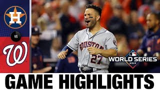 Jose Altuve, Astros take World Series Game 3 in DC, 4-1 | Astros-Nationals MLB Highlights