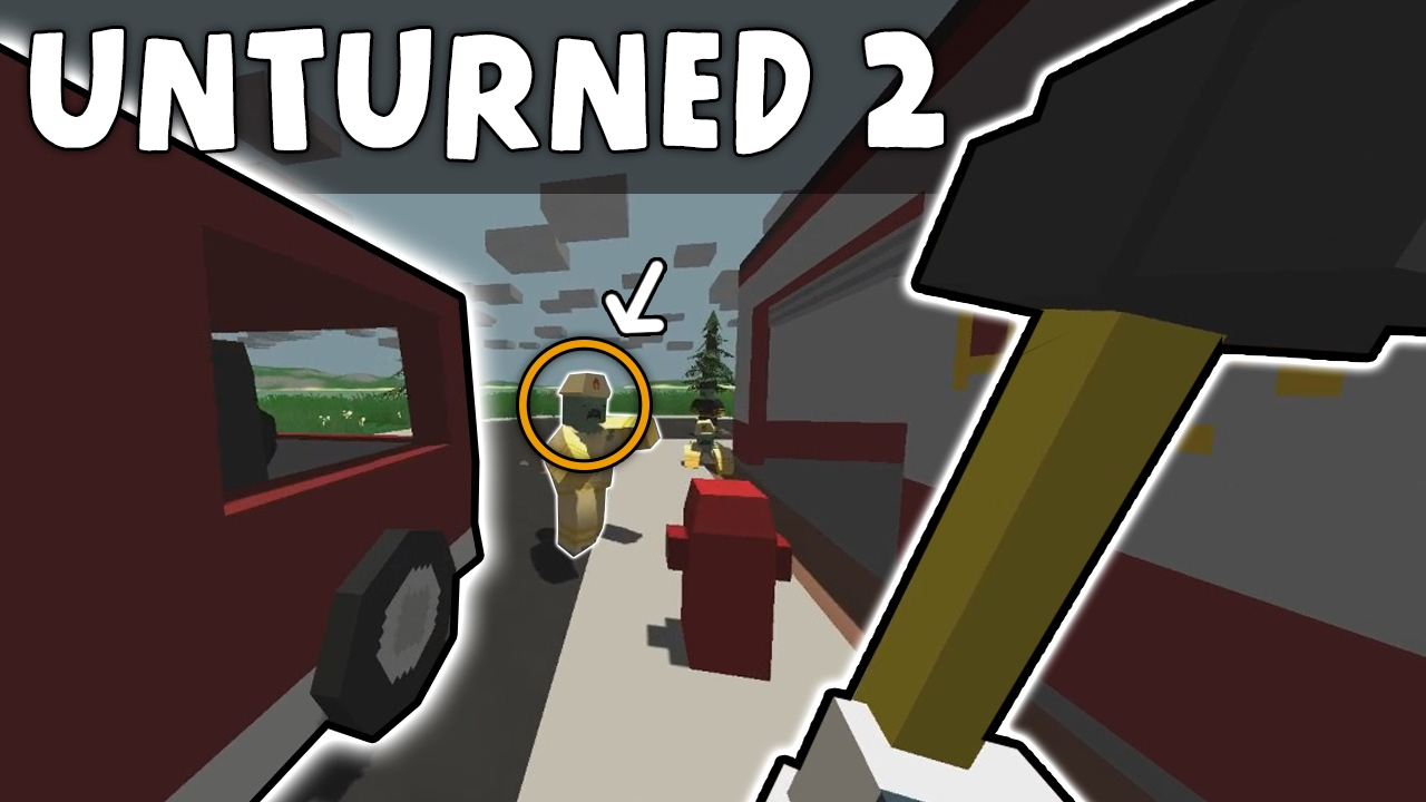 THE OLD UNTURNED!! - Lets Play Unturned 2 #01 (Unturned 2.2.5 classic)