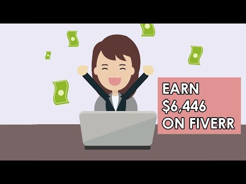 Earn $6,446 On Fiverr (Without Doing The Work Make Money Online)