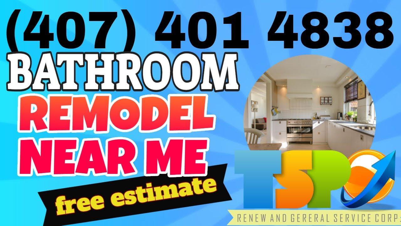Bathroom Remodel Near Me - Find Here an Bathroom Remodel ...
