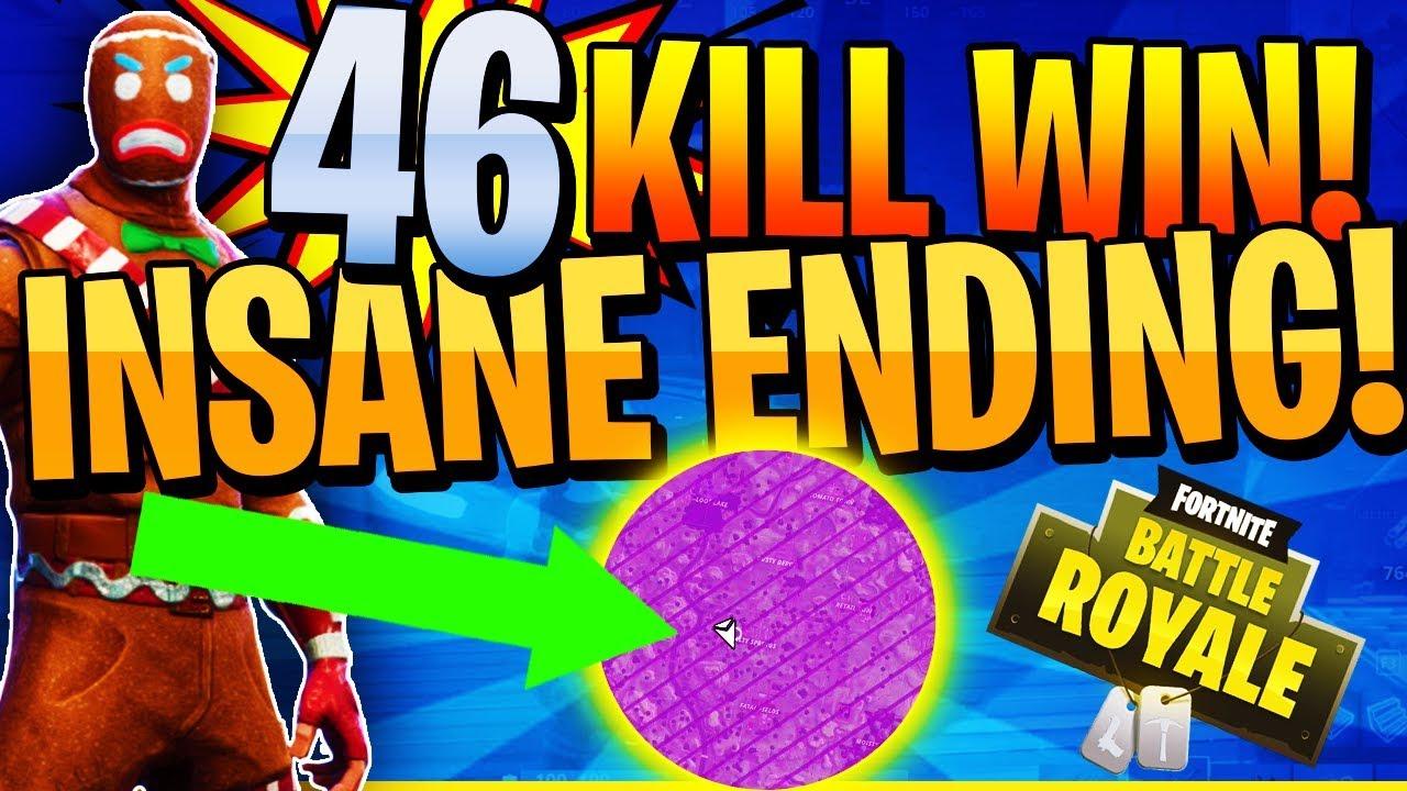 Insane 46 Kill Squad Win Fortnite Battle Royale Fortnite Free V