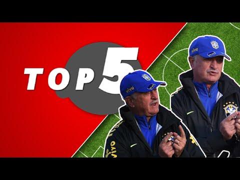 Os 5 erros de Luiz Felipe Scolari na Seleção Brasileira