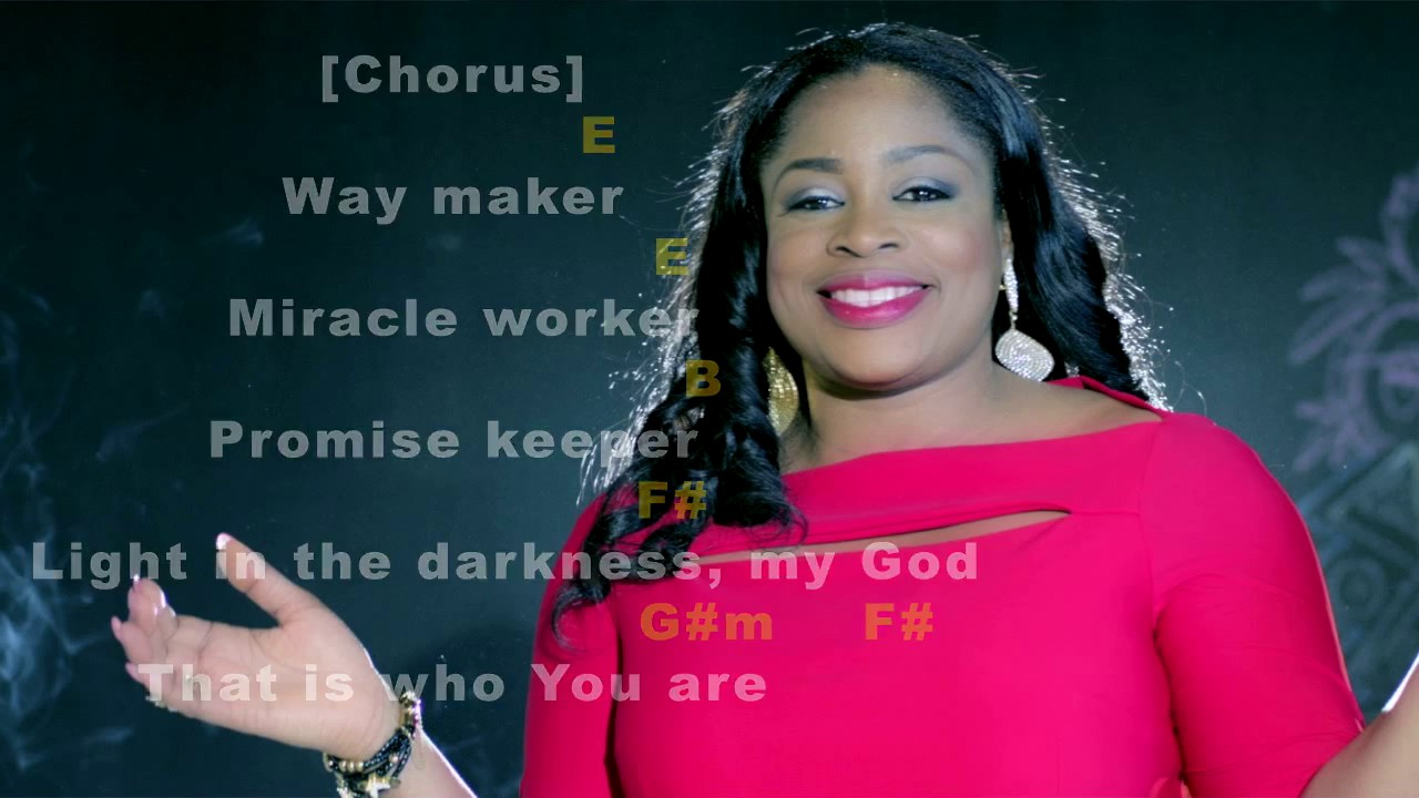 Way Maker Chords Sinach
