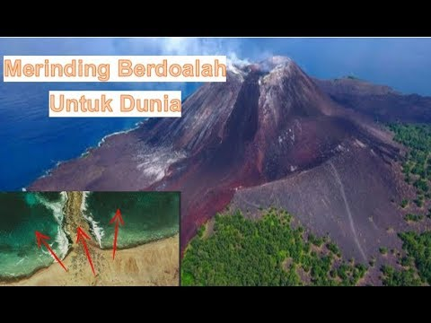 Baru Saja!! Setelah Krakatau Ada Lagi Keanehan Laut Tiba Tiba Terbelah' Pertandakah'