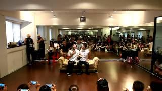 2013 Jimmy dance performance party fufu+josh+張兆志+yuyu+joda_中國好聲音(表演)