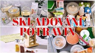 Jak skladujeme potraviny? Kuchyně a naše spižírna - LIDL - BIO - FARMÁŘSKÉ TRHY | Markéta Venená